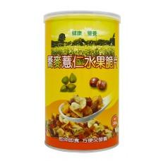 蕎麥薏仁水果脆片